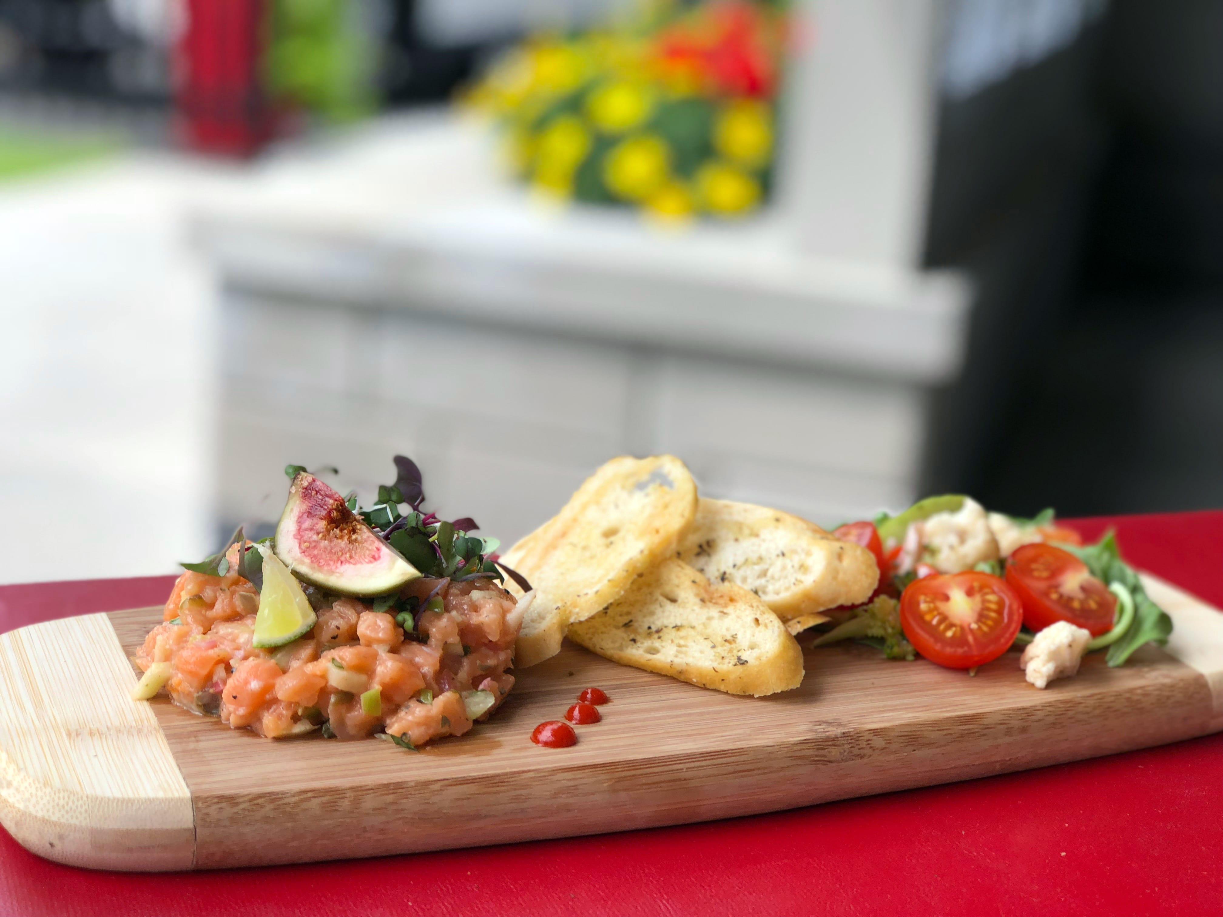 Tartare saumon entrée