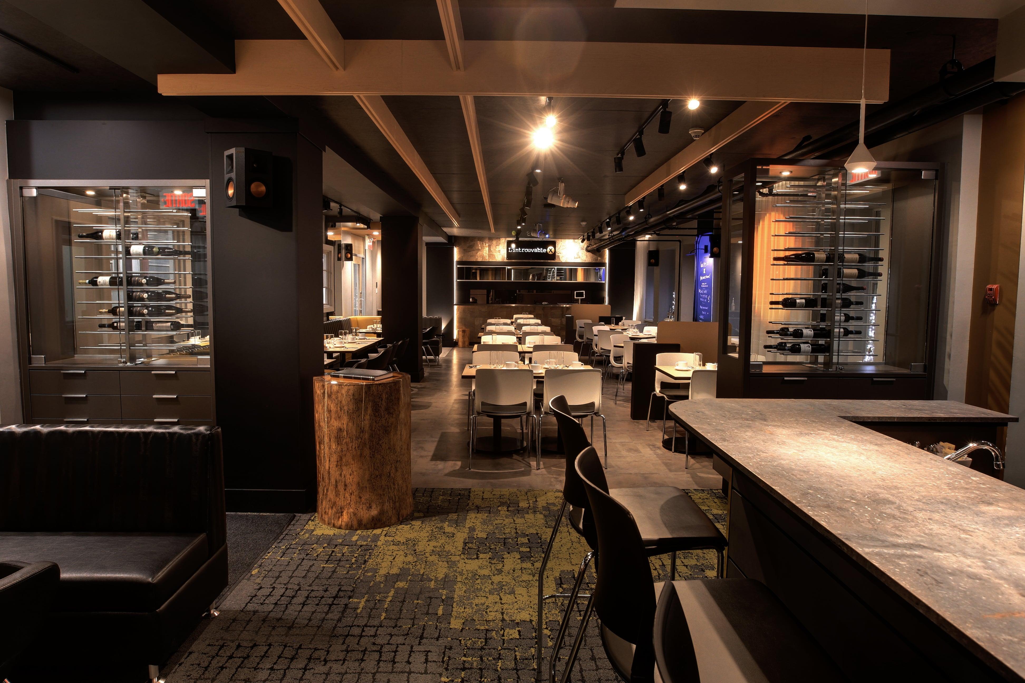 Restaurant L'introuvable soir